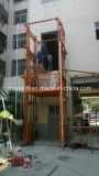 Machine de levage de guide de bâtiment vertical de rail pour soulever le béton