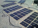 panneau solaire 60W flexible pour camper avec le véhicule