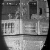 PTZ 808nm 야간 시계 300m를 가진 옥외 IR Laser 돔 사진기