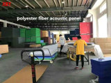 ポリエステル線維のボードの音響パネルの壁パネルの天井板の探偵のパネル1220*2420*9mm
