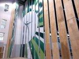 展示場または体操のホールのための操作可能な隔壁