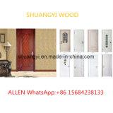 贅沢な内部の木のドアを切り分ける高品質