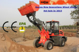 Lader van het Wiel van Everun van de Machine van de Bouw van de Verkoop van de Fabriek van China Er20 de Mini