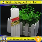 68g Household White Wax Stick Fluted Candles