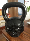 China Special Gorrila Logo Engraved Kettlebell para Bodybuilding