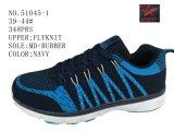 2 ботинка атлетики людей Knit мухы цвета