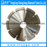 La circulaire de diamant scie la lame pour la pierre sèche de découpage