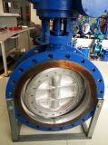 Двойная клапан-бабочка нержавеющей стали фланца Dn1200