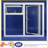 La última ventana de aluminio/ventana de cristal del marco de la ventana de aluminio