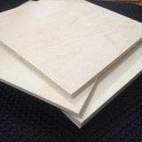 Madera de construcción de la madera contrachapada de la base del álamo para el embalaje de los muebles de la paleta (30X1220X2440m m)