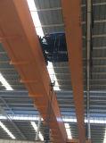 Pont roulant de double de poutre élévateur électrique de câble métallique