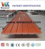 Prodotti di brevetto di Winsroof delle mattonelle di tetto della fibra del carbonio (tejas di UPVC)