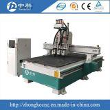CNC Router voor Pneumatische Atc van de Houtbewerking Snijdende Machine
