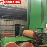 A cor revestiu a bobina de aço do Galvalume usada no edifício