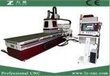 Centro di lavorazione di falegnameria di CNC del commutatore di strumento automatico di Jinan