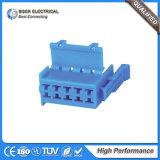 Plugues automáticos de terminais de conector de fio para placa
