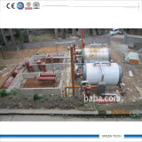 Twin Style 20ton Recycling Rubber to Diesel Pyrolysis Distillation