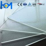 Vidro solar endurecido arco para o painel solar