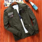 人の衣服のための立場カラー飛行のジャケット