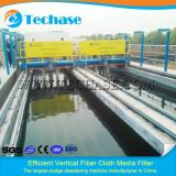 Körper oder Fällungsmittel-Abbau durch Filter Filtration