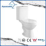 Toletta di ceramica dell'armadio a due pezzi di Siphonic della stanza da bagno (AT6800)