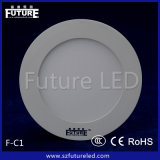 diodo emissor de luz Panel Light de 12W Future Branded Round com CE Approval