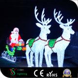 Lichter der Weihnachtsdekoration-LED Weihnachtsmann