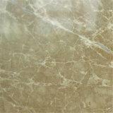 Marmo beige di Emperador della cava dell'indicatore luminoso diretto di alta qualità tagliato per graduare mattonelle secondo la misura