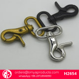 鎖カラー袋カラーのための金属の旋回装置のスナップのホック