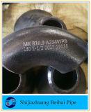 Krümmer-Stahl 90 des Grad Kohlenstoffstahl-B16.9 Sch 80