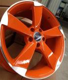 Audiのレプリカの合金の車輪のためのオレンジ