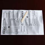 Gants de mort de cheveux de qualité sur les gants de papier de PE (7-5013)