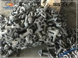 Parti galvanizzate forgiate della serratura del contenitore del TUFFO caldo