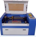 Máquina de estaca plástica 350 da gravura do laser dos retratos