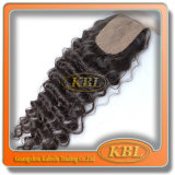4X4 Silk brasileño Base Lace Closures Good Prices Guangzhou
