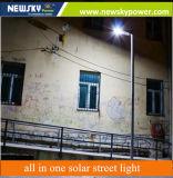réverbère actionné solaire de 30W 60W DEL avec du ce reconnu