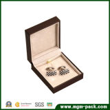 Hot Popular Fashion Plastic Cufflink Box para embalagem
