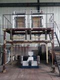 Máquina de sopro da película principal dobro do HDPE do LDPE da extrusora da película