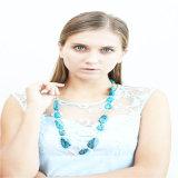 Bördelt neuer Entwurf gesprühte Form Form-Schmucksache-Halskette