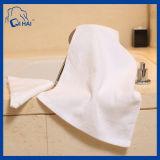 綿の明白なサテンのホテルの表面タオル(QHA0934)