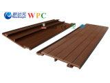 revestimento decorativo composto plástico de madeira do painel de parede WPC de 168*20mm