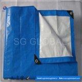 Wasserdichter blauer weißer PET Plane-Deckel