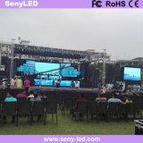 schermo di pubblicità esterno di colore completo LED della parete di 4.81mm video per la prestazione della fase