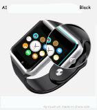 熱い販売Mtk6261チップ多彩なスクリーンのスマートな腕時計の電話A1