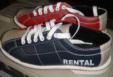 Echtes Leder-Bowlingspiel-Miete-Schuhe