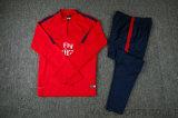 La vente en gros initiale de qualité de la Thaïlande de dessus de procès de formation du Jersey du football de pente viennent avec le long pantalon