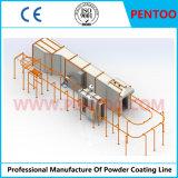 Linha do pulverizador de pó para os perfis de alumínio do revestimento com capacidade elevada