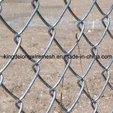 Горяч-Окунутая гальванизированная сетка звена цепи