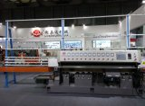 La máquina de cristal al por mayor china suministra la máquina de cristal del ribete de 10 ruedas