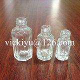 Piccola bottiglia di olio di vetro del chiodo 2ml